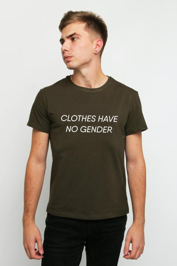 купить заказать футболку футболка clothes have no gender украина киев